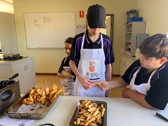Blake and Josh show us how to make the perfect chip!
