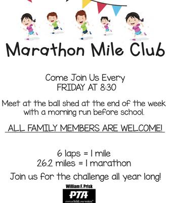 Marathon Mile on Fridays!