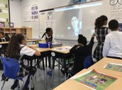 Massachusetts State Trooper joins Ms Carmody's class!