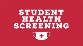 COVID-19 Weekly Health Screening Form