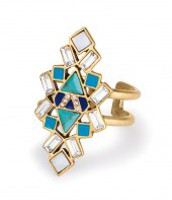 Stone Tile Ring-brand new $30