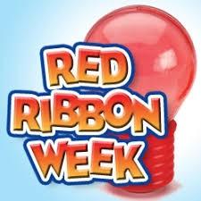 Red Ribbon Week   October 28-31...