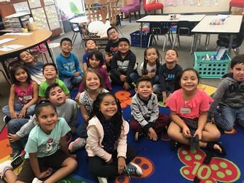 We love Ms. Sanchez!