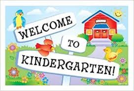Kindergarten Orientation- August 7, 5:30 p.m.