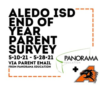 End of Year Parent Survey begins May 10