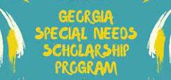 GEORGIA SPECIAL NEEDS SCHOLARSHIP/SB10