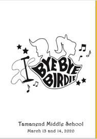 Enjoy the Program from Our Spring Musical, Bye Bye Birdie