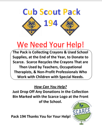 Cub Scout Pack 194 Needs Your Help!