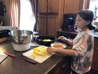 3rd Grade Cooking!