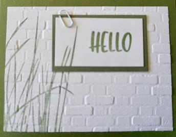 2020 Design - Grassy Hello