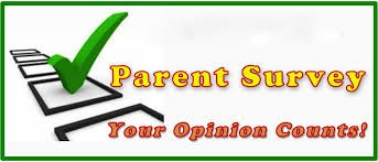 WE WANT YOUR FEEDBACK: Please Complete the Parent Survey By December 1