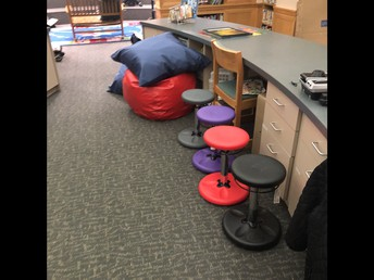Flexible Seating in a Library?  Yes It Can Be Done!