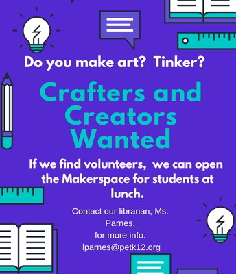 Crafters and Creator Wanted