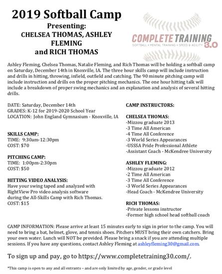 camp information