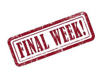 STAGGERED DISMISSAL TIMES - FINAL WEEK! Times change after Spring Break