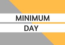 Minimum Day, Thursday, March 12th