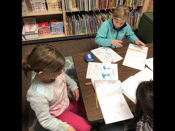 Publishing Stages of our Mo Willems Inspired Books