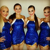 New Blue-Sequined Uniforms