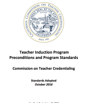 Teacher Induction Program Standards