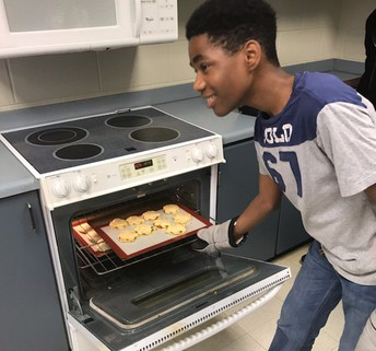 Cooking in Mrs. Johnson's Class!