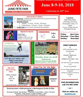 June Fete