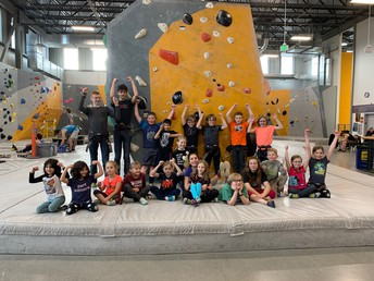 AK Rock Gym Field Trip