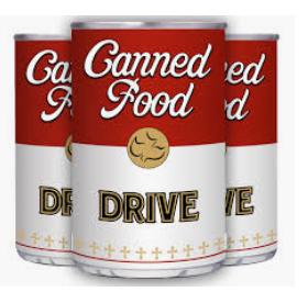 HST CANNED FOOD DRIVE!