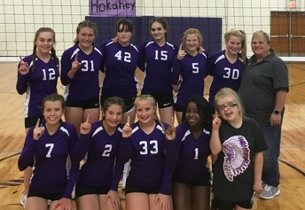 8th grade Lady Indians