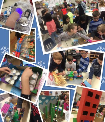 Sharing our STEM challenges : )