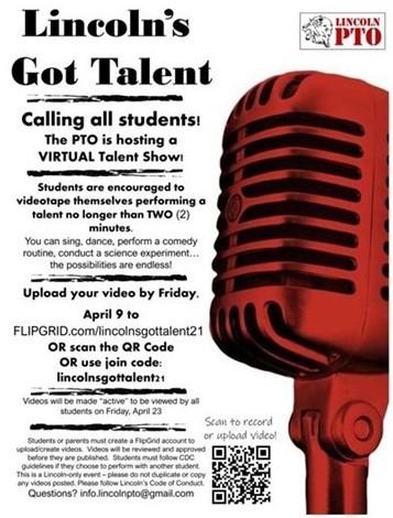 Lincoln PTO Talent Show