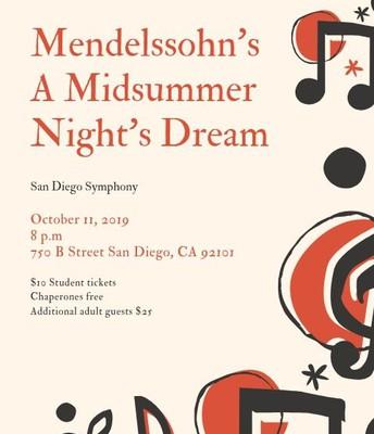 San Diego Symphony - A Midsummer Night's Dream