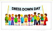 MONTHLY/BIRTHDAY DRESS DOWN DAYS