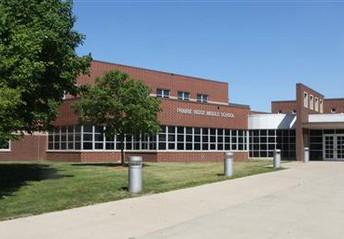 Image of Prairie Ridge Middle School in Ankeny, Iowa