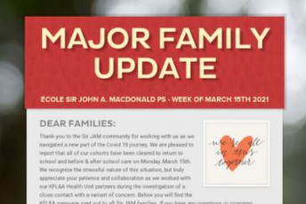 Not Getting Our Family Update?