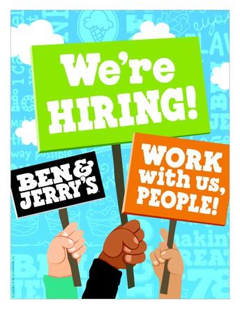 Ben & Jerry's is Hiring!