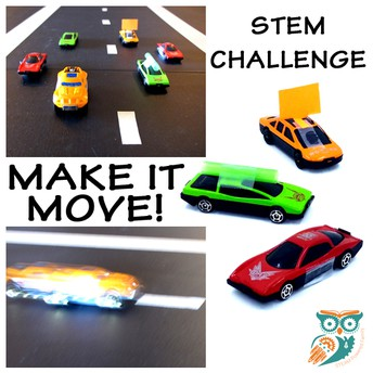 Grades K-2: Make it Move Challenge (Physical Science)