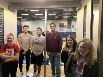 CCHS Blood Drive Volunteers