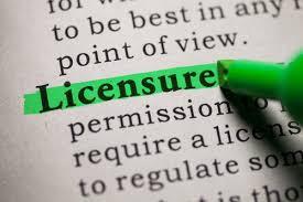 Licensure News