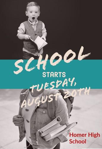 Opening School Calendar