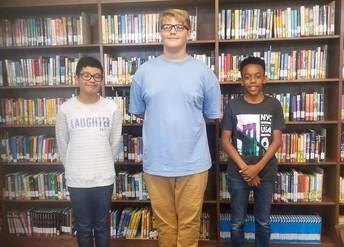 8th Grade Spelling Bee Winners