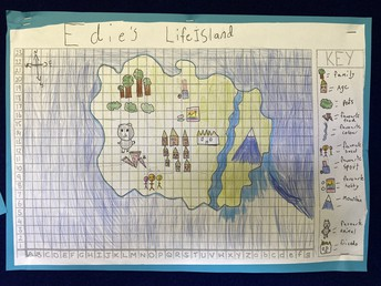 Edie's Life island map