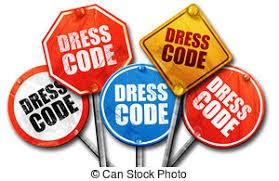Dress code check!