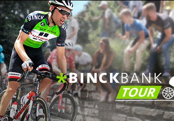 Social media strategy & content creation - Binckbank Tour