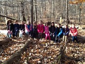 Our outside classroom.