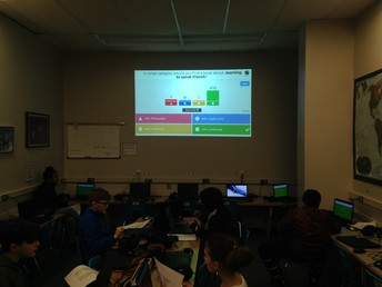 Kahoot! to practice using the Dewey Decimal System