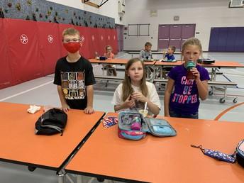 New lunchroom procedures
