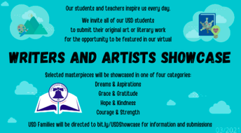 USD Writers and Artists Fair