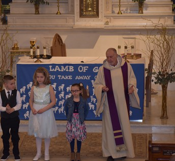 Congrats to the 2nd Grade for receiving the sacrament of Reconciliation!
