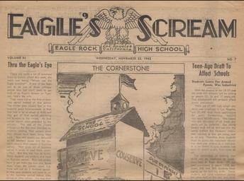 Eagle Rock Jr/Sr HS- Eagle's Scream Publication