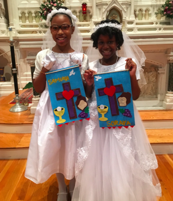 Personalized First Communion Swag!